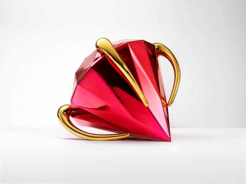 Bernardaud Diamond Red Jef Koons