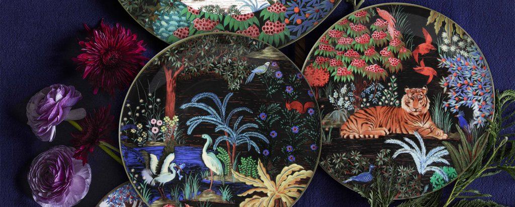 Manufacture de Gien Collection Jardin du palais