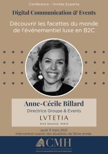 Conférence hôtel Lutetia 11-03-2021